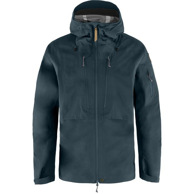 Fjällräven Keb Eco-Shell Jacket M Shell jackets blue Men's