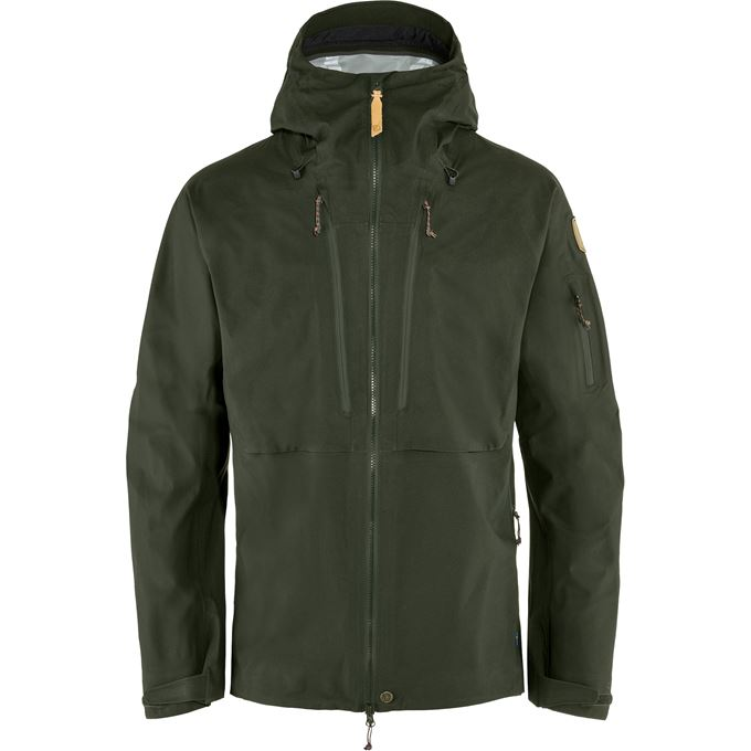Fjällräven Keb Eco-Shell Jacket M Shell jackets dark green, green Men's