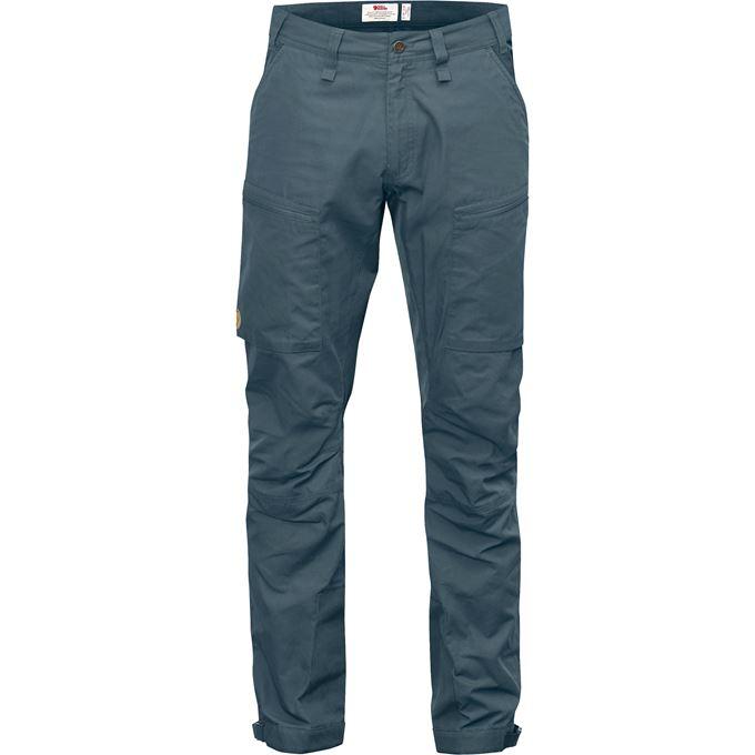 Fjällräven Abisko Lite Trekking Trs M Reg Trekking trousers grey, blue Men's