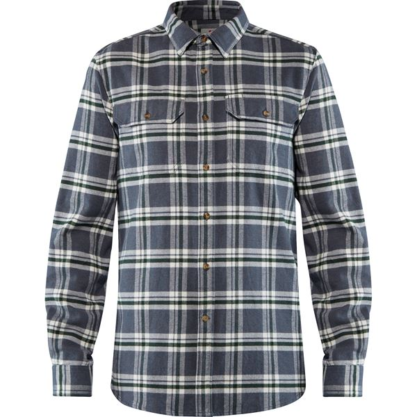 Övik Heavy Flannel Shirt M