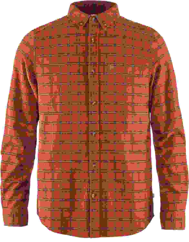 Fjallraven Womens /Övik Flannel Shirt W Long Sleeve Long Sleeved T-Shirt