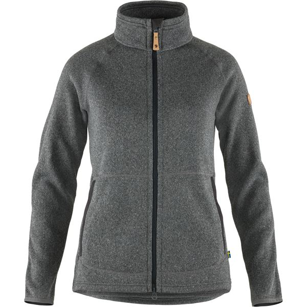 Övik Fleece Zip Sweater W