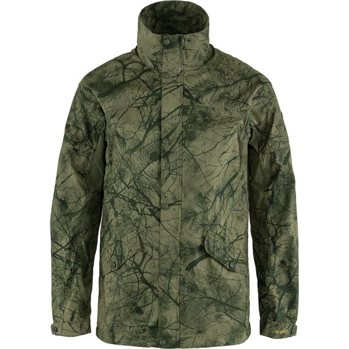 Fjällräven Forest Hybrid Jacket M Hunting jackets Dark green, Green Men's