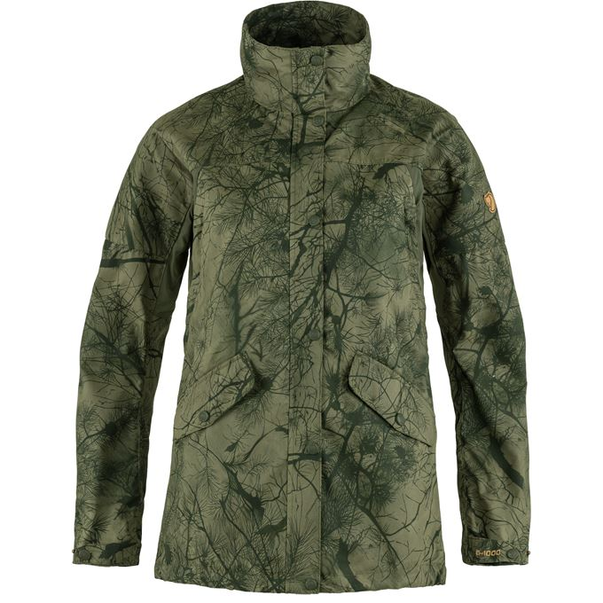 Fjällräven Forest Hybrid Jacket W Hunting jackets Dark green, Green Women's