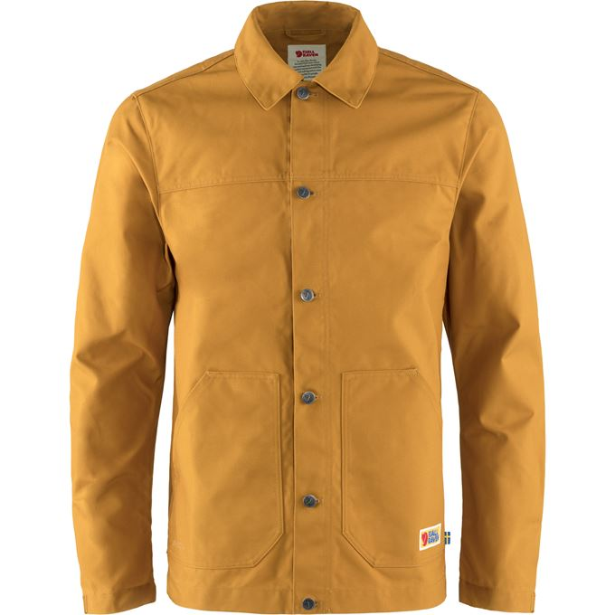 Fjällräven Vardag Jacket M Outdoor jackets Yellow Men's