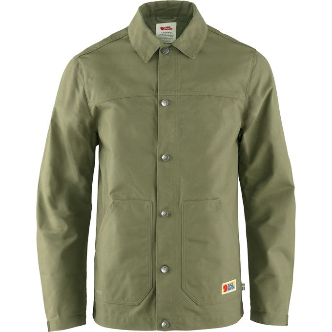 Fjällräven Vardag Jacket M Outdoor jackets Green Men's