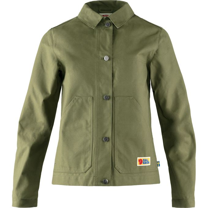 Fjällräven Vardag Jacket W Outdoor jackets Green Women's