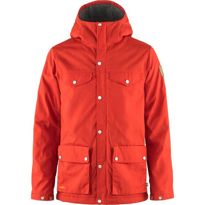 Fjällräven Greenland Winter Jacket M Outdoor jackets Red Men's
