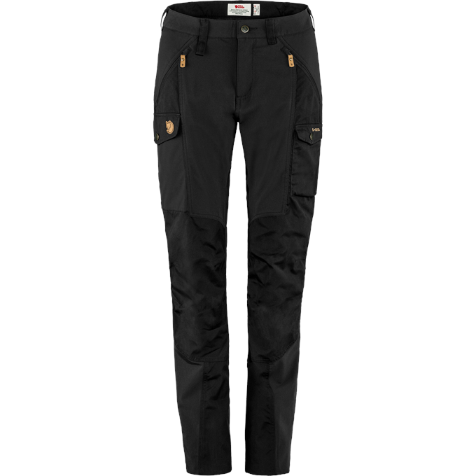 Fjällräven Nikka Trousers W Trekking trousers black Women's
