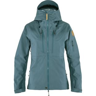 Fjällräven Keb Eco-Shell Jacket W Shell jackets grey, blue Women's