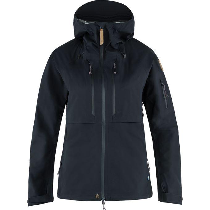 Fjällräven Keb Eco-Shell Jacket W Shell jackets blue Women's