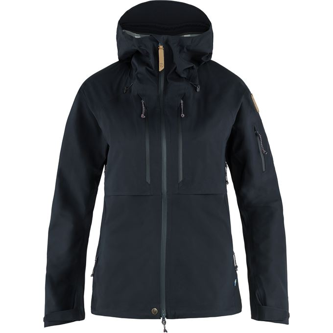 Fjällräven Keb Eco-Shell Jacket W Shell jackets blue Women's