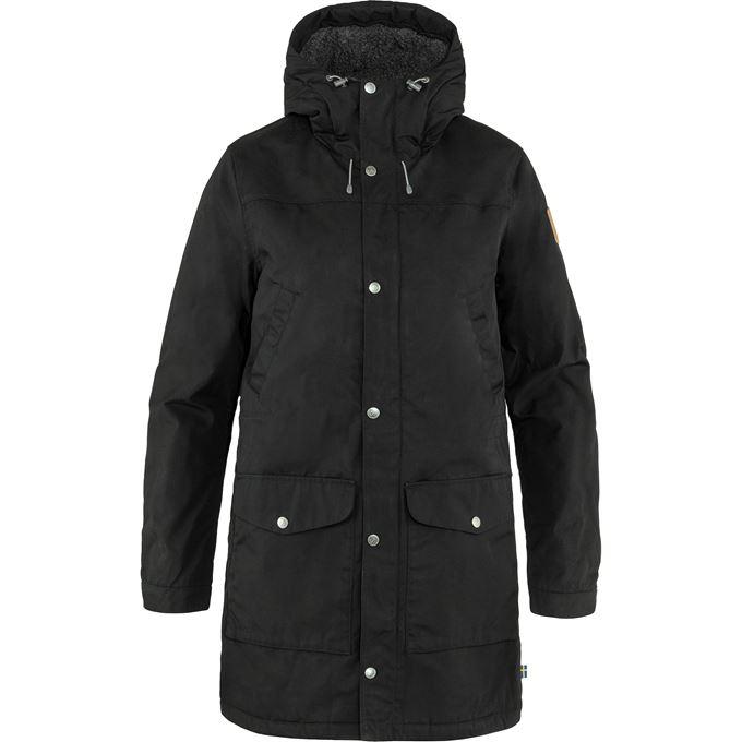 Fjällräven Greenland Winter Parka W Outdoor jackets black Women's