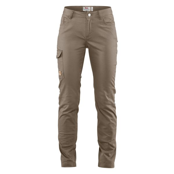 Fjällräven Greenland Stretch Trs W Reg Outdoor trousers grey Women's
