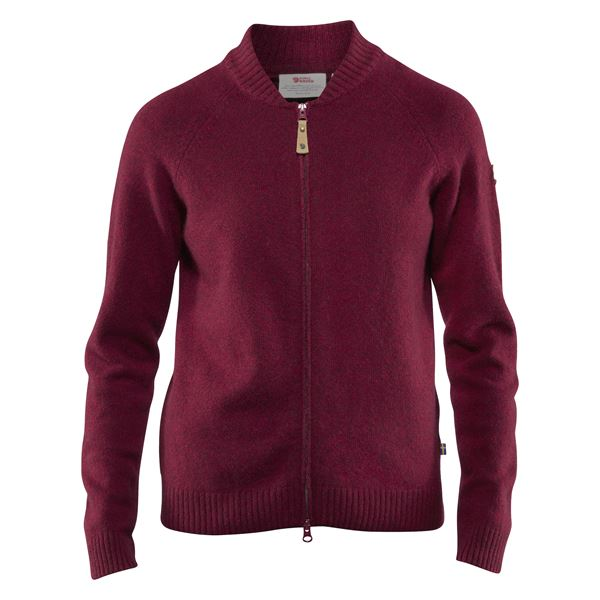 Övik Re-Wool Zip Jacket W