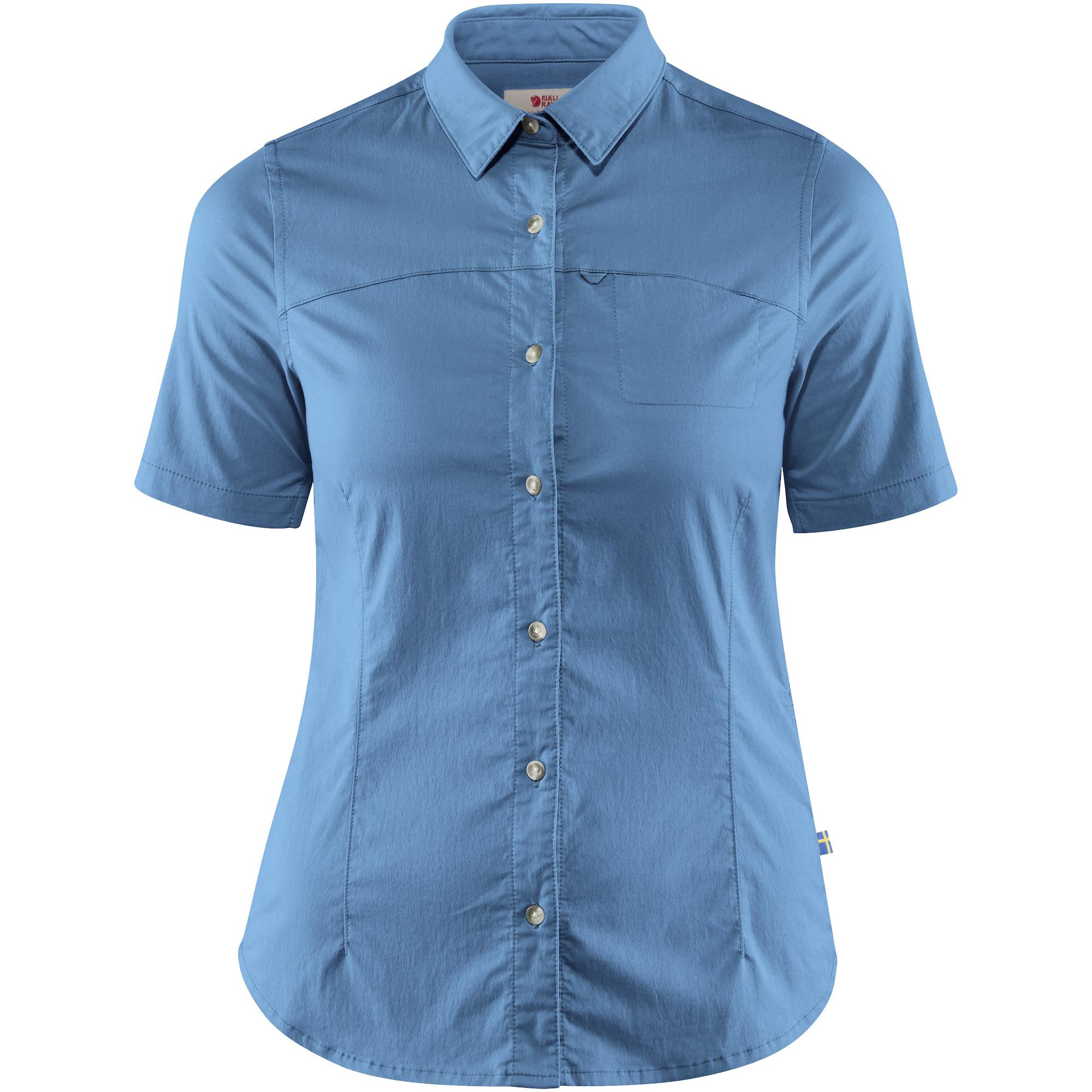 FJALLRAVEN Womens High Coast Stretch Shirt Ss W T