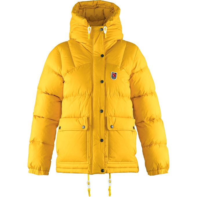 Fjällräven Expedition Down Lite Jacket W Down jackets Yellow Women's