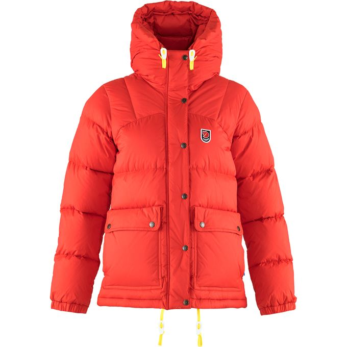 Fjällräven Expedition Down Lite Jacket W Down jackets Red Women's