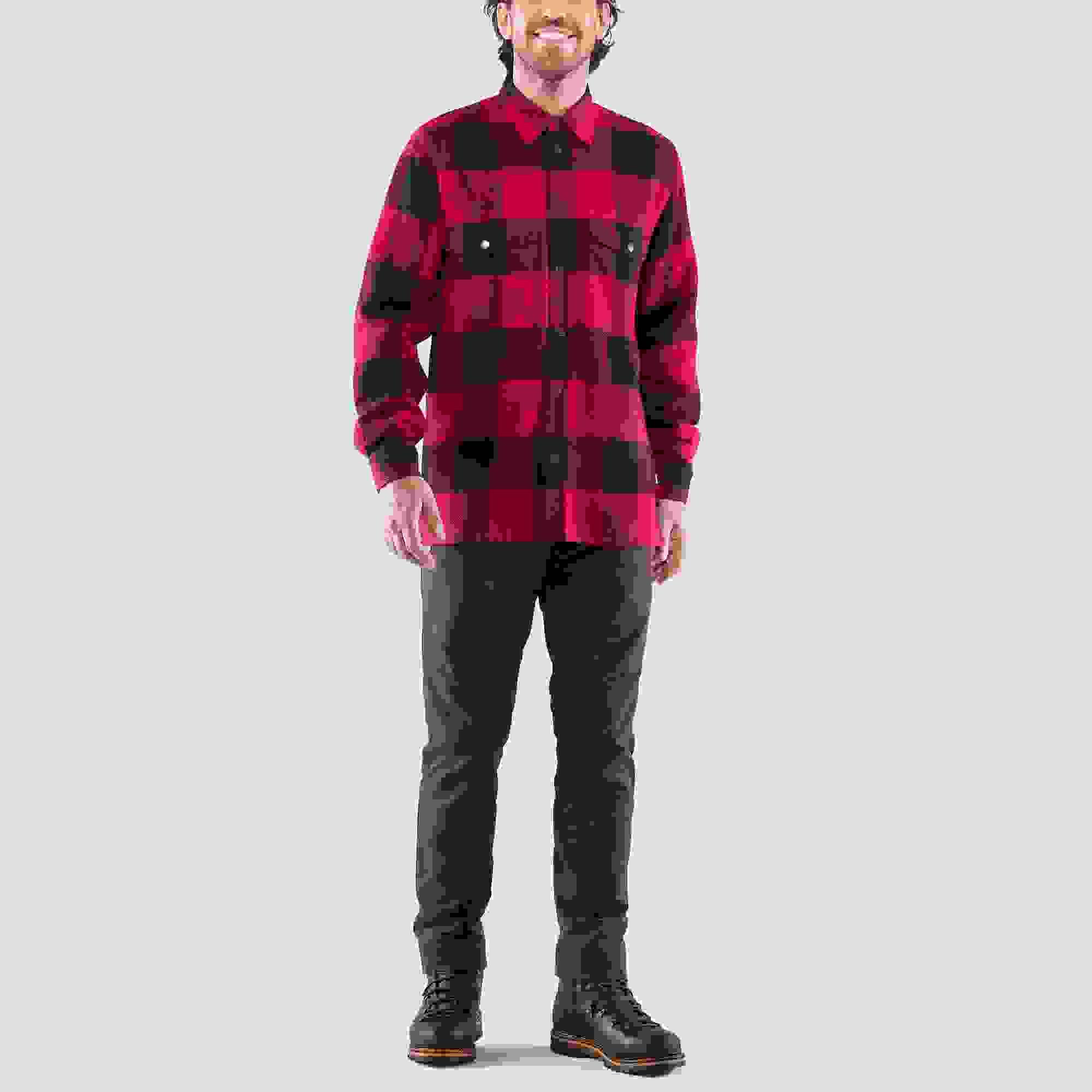 Black Hombre Fjallraven Canada M Long Sleeved T-Shirt